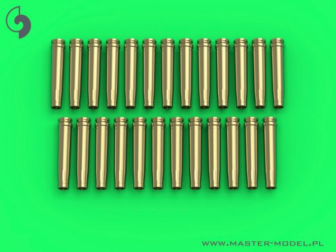 Master 1/35 German 2cm Ammunition (Cal. 20x138B) for Flak 30/38, KwK 30/38 - Empty Shells (25pcs) #