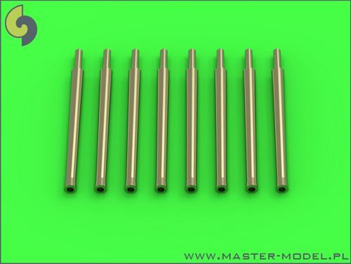 Master 1/350 IJN 12,7cm/50 (5in) 3rd Year Type Barrels - for Turrets w/Blastbags # SM35084