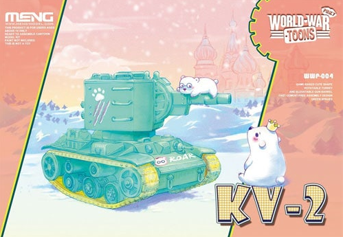 Meng - KV-2 Russian Tank Pinky World War Toon # WWP-004á