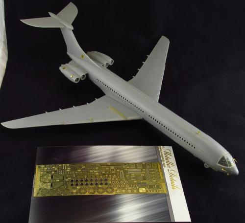 Metallic Details 1/144 Vickers VC10/VC-10 Detailing Set # MD14412