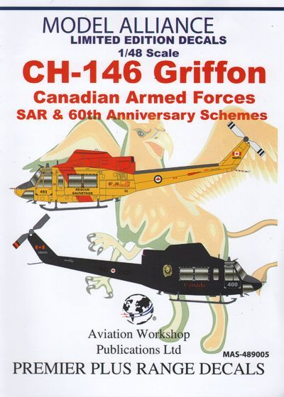 Model Alliance 1/48 Bell CH-146 Griffon Canadian Air Force # 489