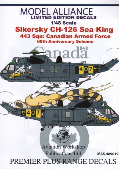 Model Alliance 1/48 Sikorsky CH-124 Sea King # 489019