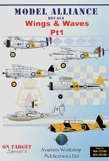 Model Alliance 1/48 Wings and Waves Part 1 # 48180