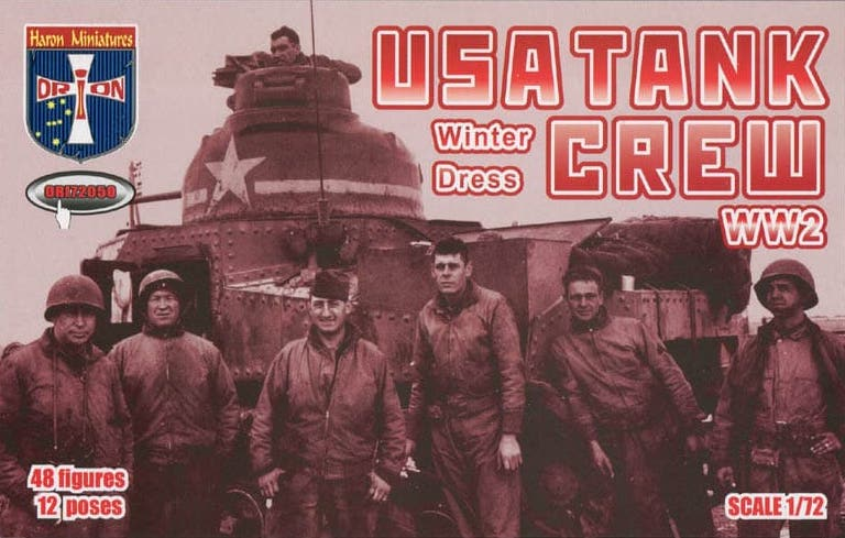 Orion 1/72 USA Tank Crew (Winter Dress) WWII # 72050