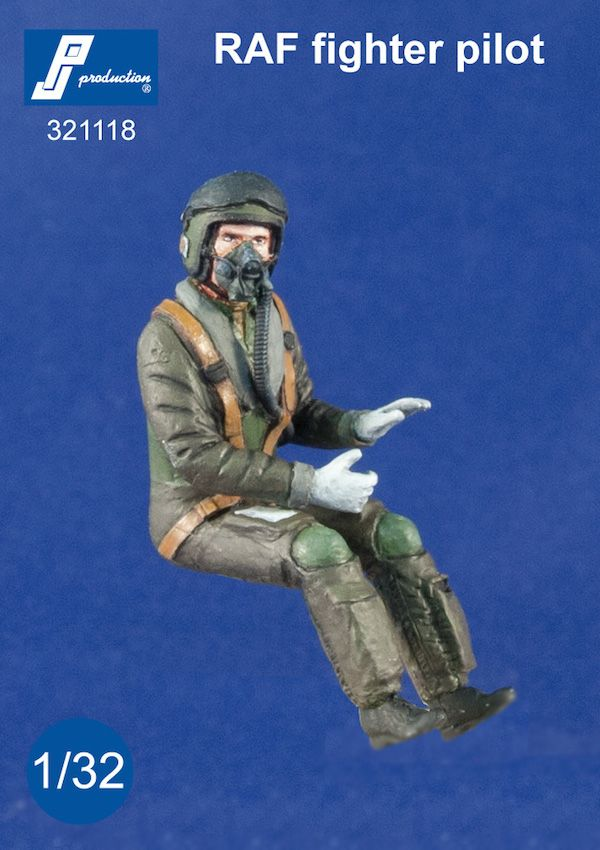 PJ Productions 1/32 RAF Fighter Pilot Seated in A/C (Modern) # 3
