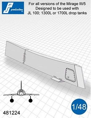 PJ Productions 1/48 CRP 18 Pylon for Dassault Mirage III/5 # 481224