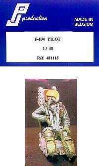 PJ Productions 1/48 F-104 Starfighter Pilot # 481113