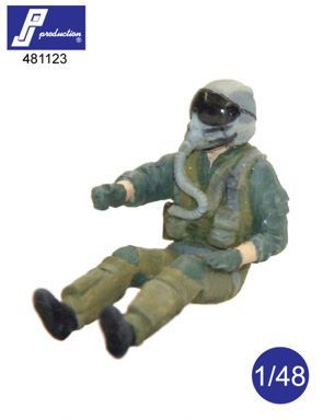 PJ Productions 1/48 F-16/F-18 Pilot Seated # 481123