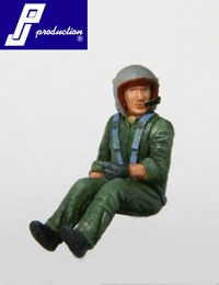 PJ Productions 1/48 French Helicopter pilot seated # 481121