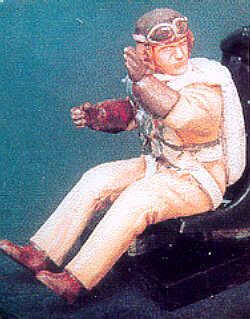 PJ Productions 1/48 French Pilot seated # 481112