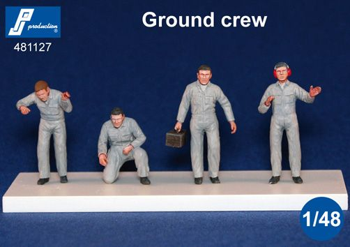 PJ Productions 1/48 Ground Crew # 481127