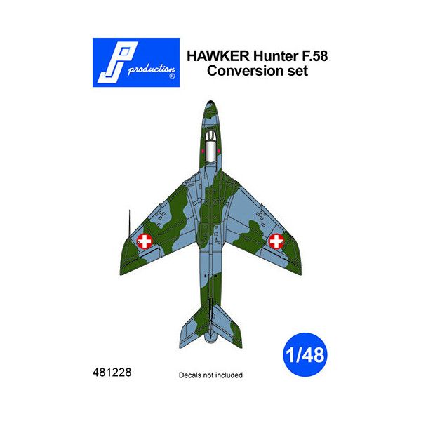 PJ Productions 1/48 Hawker Hunter F.58 Conversion Set # 481228