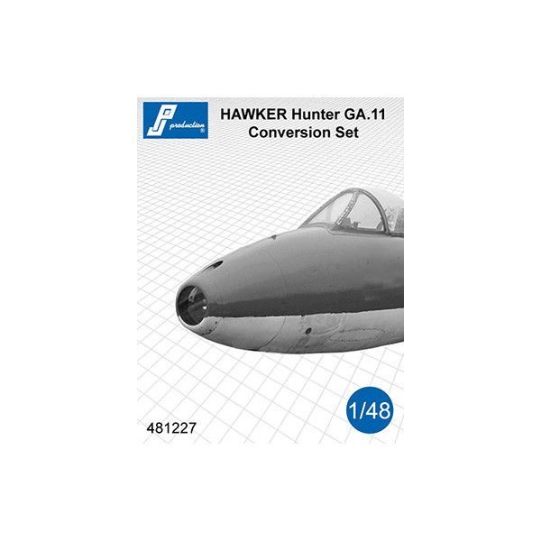 PJ Productions 1/48 Hawker Hunter GA.11 Conversion Set # 481227
