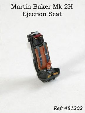 PJ Productions 1/48 Martin Baker Mk. 2H Ejection seat # 481202