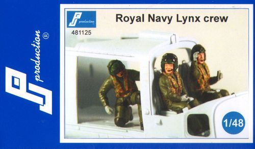 PJ Productions 1/48 Royal Navy Lynx crew # 481125