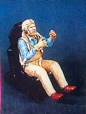 PJ Productions 1/48 WWII US Navy Gunner sitting # 481111