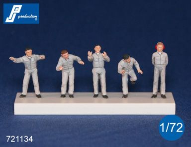 PJ Productions 1/72 Ground Crew # 721134