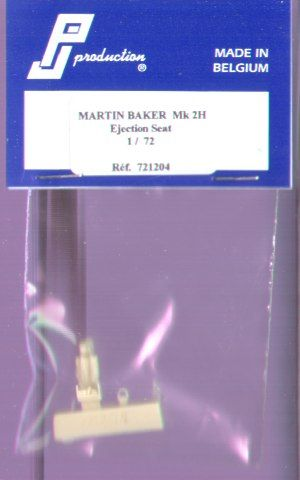 PJ Productions 1/72 Martin Baker Mk. 2H Ejection Seat # 721204