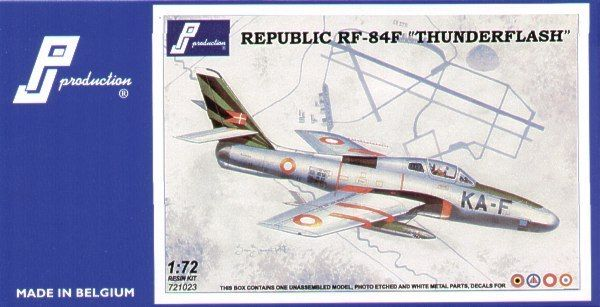 PJ Productions 1/72 Republic RF-84F 'Thunderflash' # 721023