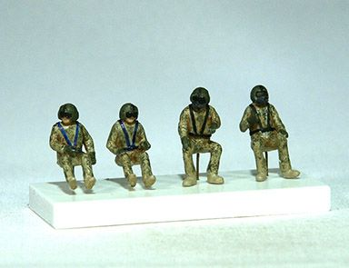PJ Productions 1/72 Sikorsky UH-60A Black Hawk Crew # 721137