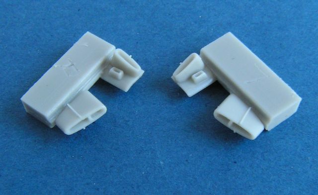 Pavla 1/48 Gloster Meteor F.8 Spent Cartridge Case Chutes # U480