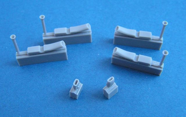 Pavla 1/72 Bristol Blenheim Mk.I Engine Exhausts & Intakes # U72