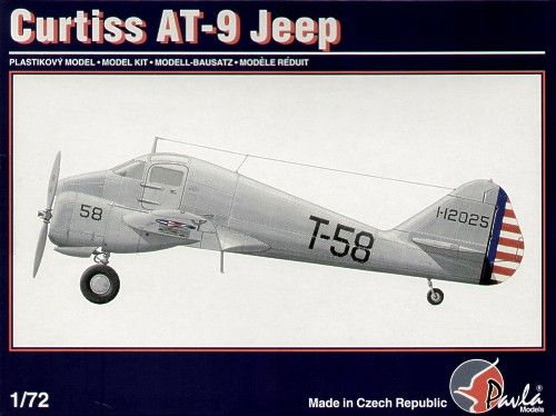 Pavla 1/72 Curtiss AT-9 'Jeep' # 72013