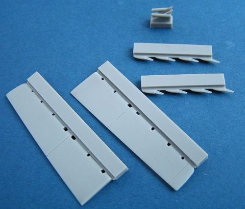 Pavla 1/72 Dassault Mirage 2000 Control Surfaces # U72157