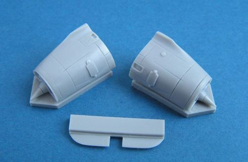 Pavla 1/72 Dassault Mirage 2000 Engine Air Intakes w/Separate FO
