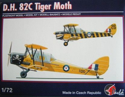 Pavla 1/72 De Havilland D.H. 82C Tiger Moth # 72052