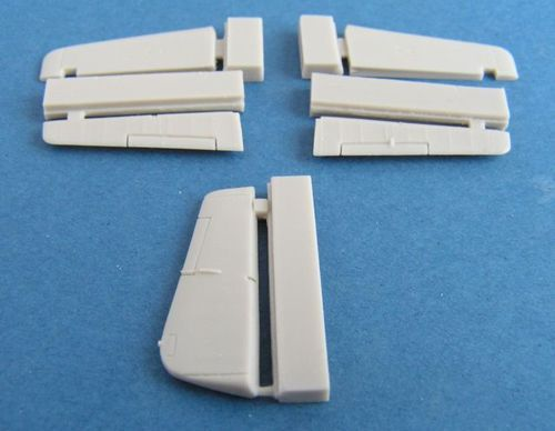 Pavla 1/72 North-American P-51 Mustang B/Mk.III Tailplane, Elevators and Rudder # U72163