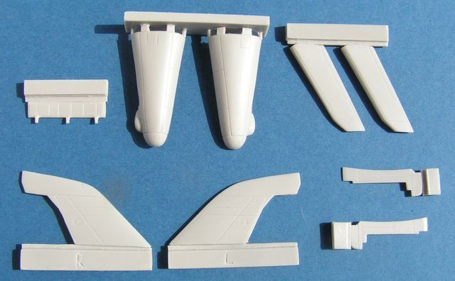 Pavla 1/72 Supermarine Swift F Mk.7 Conversion Set # U72174