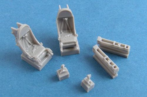 Pavla 1/72 WAC T-37 Ejection Seats for Cessna A-37A Dragonfly #