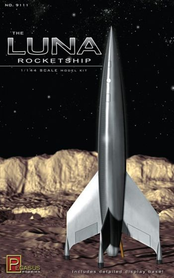 Pegasus Hobbies 1/144 The Luna Rocketship # 9111