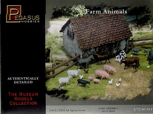Pegasus Hobbies 1/72 Farm Animals # 7052