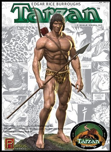 Pegasus Hobbies 1/8 Tarzan Model Kit # 9013
