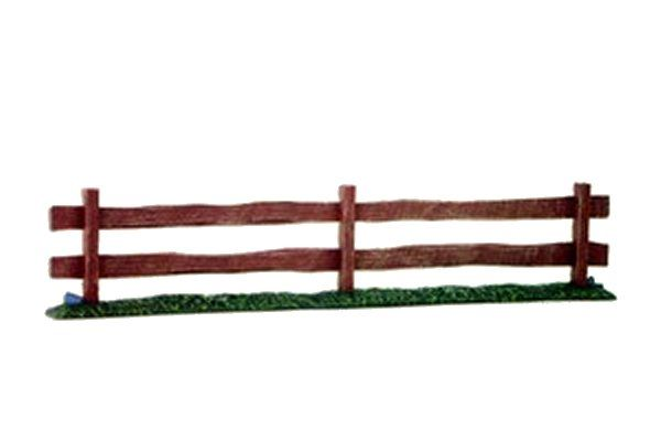 "Pegasus Hobbies 28mm (Approx 1/48) Straight Wooden Fence 6"" (15cm) x 6 per pack # 5201"