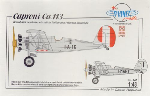 "Planet 1/48 Caproni Ca.114 ""Peruvian Air Force Fighter"" # 24248"