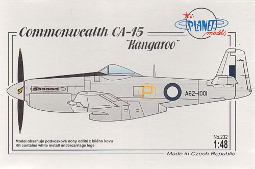 Planet 1/48 Commonwealth CA-15 Kangaroo # 232