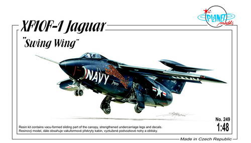 Planet 1/48 Grumman XF-10F-1 Jaguar 'Swing Wing' # 249