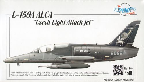 "Planet 1/48 L-159A Alca ""Czech Light Attack Jet"" # 14948"
