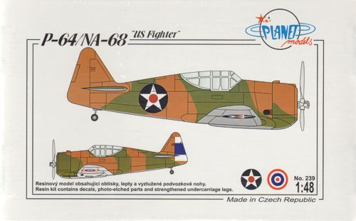 Planet 1/48 P-64/NA-68 US Fighter # 239