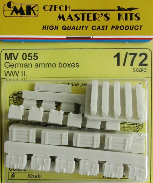 Planet 1/72 German Ammunition Boxes WWII # MV055