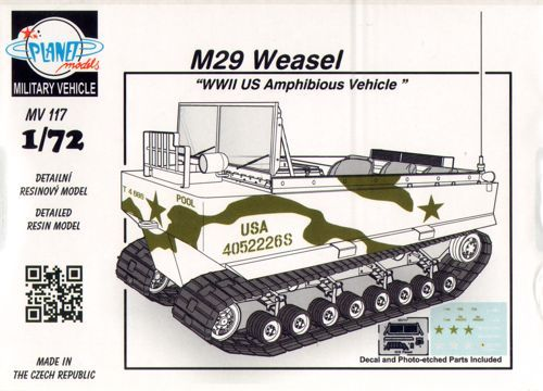Planet 1/72 M29 Weasel # MV117
