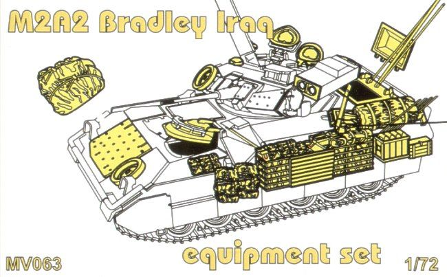 Planet 1/72 M2A2 Bradley Equipment Set # MV063