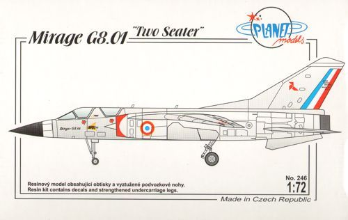 Planet 1/72 Mirage G8.01 Two Seater # 246