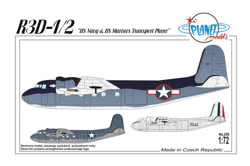 Planet 1/72 R3D-1/2 U.S. Navy & U.S. Marines Transport Plane # 2