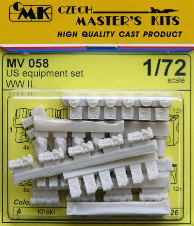 Planet 1/72 US Equipment Set WWII # MV058