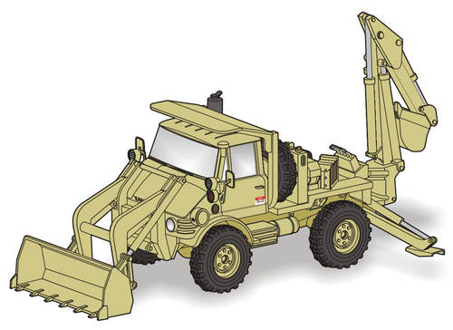 Planet 1/72 Unimog FLU 419 SEE US Army # MV119