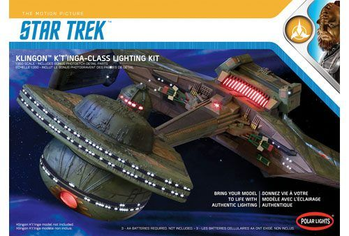 Polar Lights 1/350 Star Trek Klingon K't'inga-Class Lighting kit # MKA031